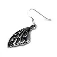 アゲハ蝶の羽根のピアス090