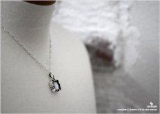 雪の結晶の限定ペンダント013