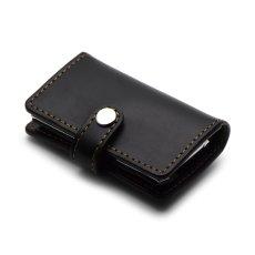 レザーレール式コインケース(ブラック)【Coo | クー】