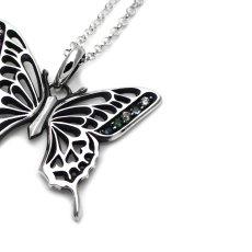 カラフルジュエル☆アゲハ蝶の透かし模様ペンダント051【限定】【Ageha|アゲハ】