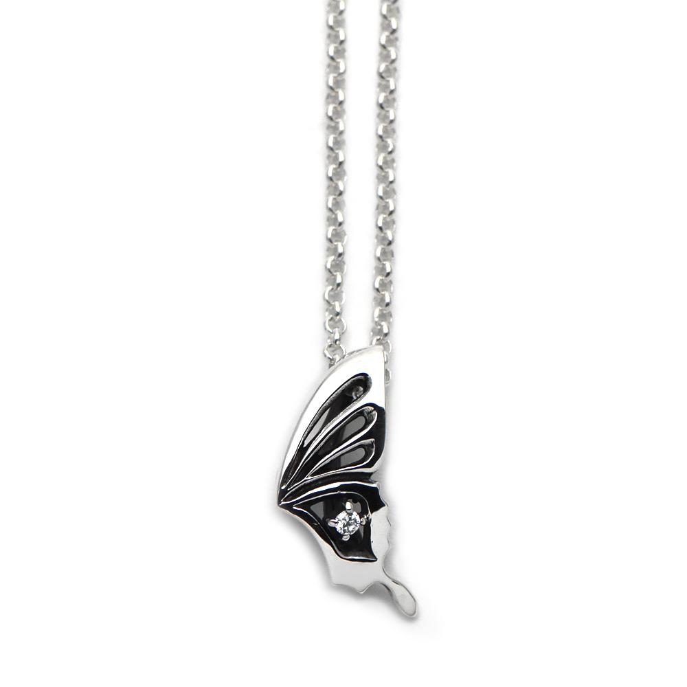 アゲハ蝶の誕生石ペンダント029【Ageha|アゲハ】