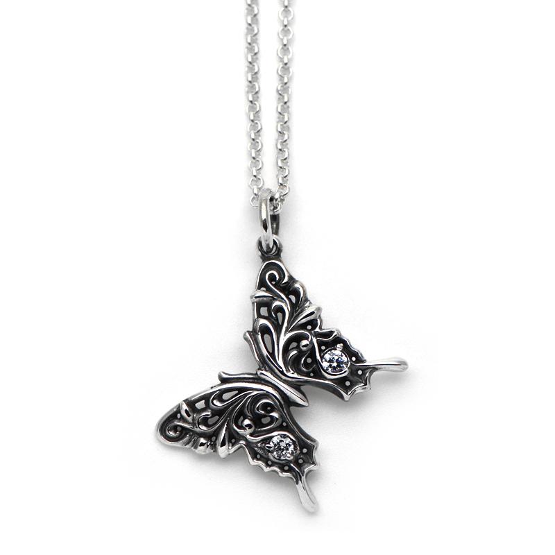アラベスク模様のアゲハ蝶のペンダント【Ageha|アゲハ】