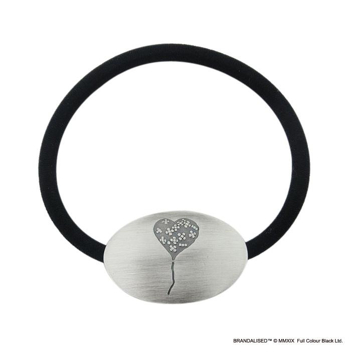 """[ブランダライズド 公式コラボアクセサリー] Banksy """"Bandaged Heart"""" Hair tie/バンクシー バンデージドハートヘアゴム【Fatima Design×BRANDALISED™】"""